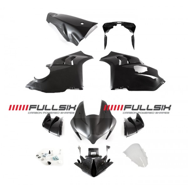 COMPLETE FAIRING KIT - V4/R -> RS - with fasten...