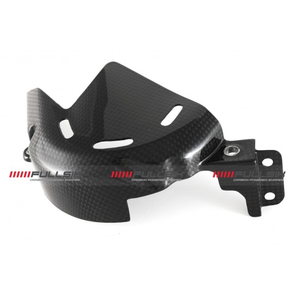 CARBON FRONT SPROCKET COVER GUARD DUCATI PANIGALE ...